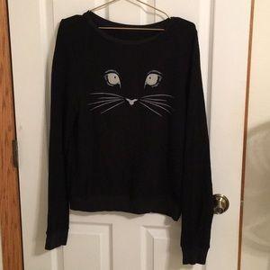 Wildfox Black Cat Jumper